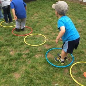 The Wise Owls Have Had Lots Of Fun Being Active In Outdoors Practicing A Variety Such As Throwing Bean Bags Into Hoop Rolling Hoops